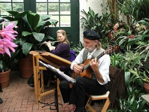 classical music in the greenhouse