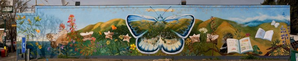 Brisbane mural by Mona caron, 2002
