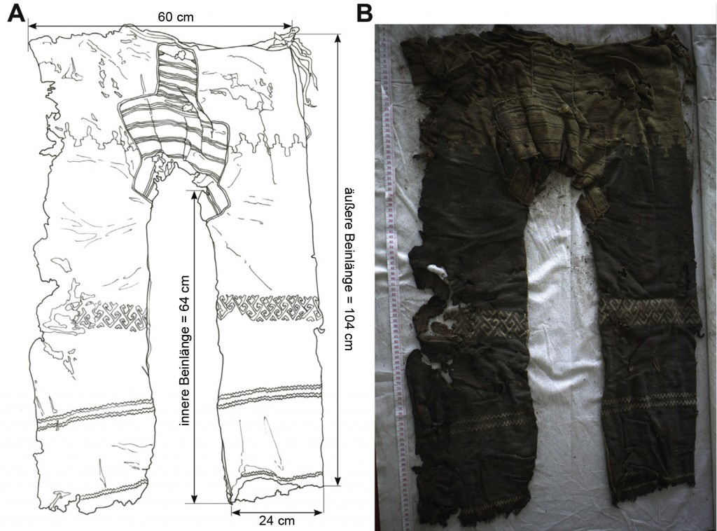 The invention of trousers and its likely affiliation with horseb