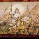 Skryté ilustrácie na oriezke starých kníh