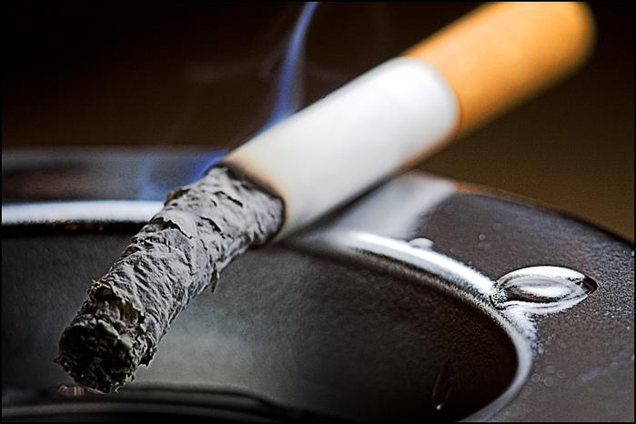 pomalý pohyb fajčenie