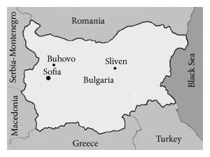 map-of-bulgaria-and-the-location-of-the-studied-sites-buhovo-buhc-and-buhd-and-sliven