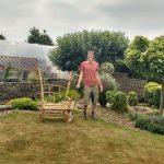 Záhradná alesná terapia