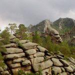 Nezvyčajné skalné masívy vKazachstane