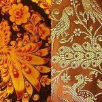 Podobnosť ruských a indických ornamentov a motívov