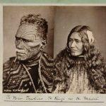 Herbár Tāwhiao, vodcu kmeňa Maori. Nový Zéland, 1888
