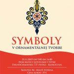 Symboly v ornamentálnej tvorbe