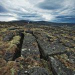 Hora Karnasurta v Arktíde - kamenné opracované bloky